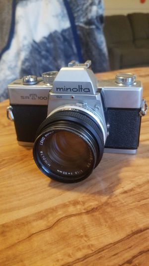 minolta srT 100 w/ 50mm 1.9 lens for Sale in Portland, OR