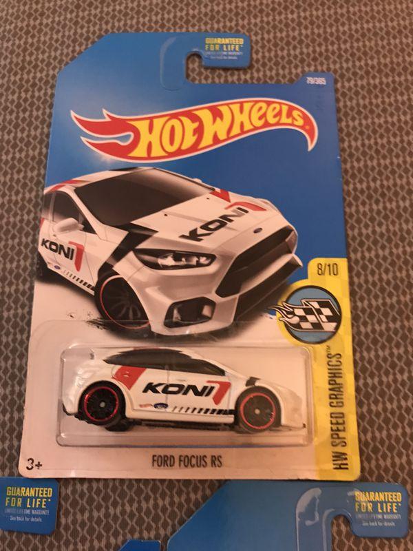Hot Wheels Ford Lot