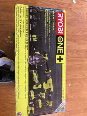 Ryobi 6 piece combo kit for Sale in Sacramento, CA