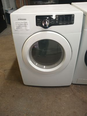 SAMSUNG FRONT LOAD ELECTRIC DRYER WORKING PERFECT for Sale in Baltimore, MD