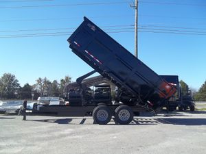 Dump trailer dump trailer was a friend of mine and he passed away so I have it at all I got is a bill of sale that I can do for you for Sale in Huntington Park, CA