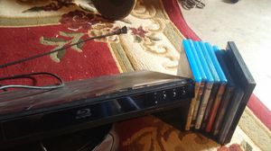Blu ray player with movies for Sale in Modesto, CA