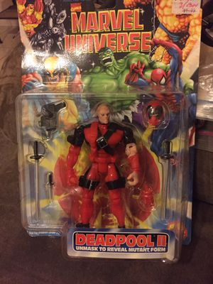 Toy biz dead pool 2 action figure for Sale in Fresno, CA