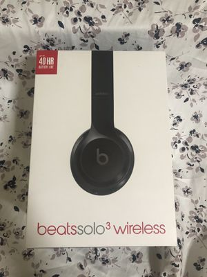 Like new beats solo 3 wireless headphones for Sale in Deptford Township, NJ