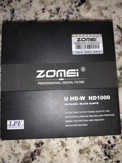 Zomei U HD-W ND1000 Professional Digital Filter for Sale in Fellsmere,  FL