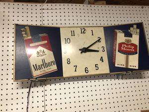 Antique Phillip Morris clock for Sale in Simpsonville, SC