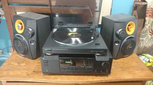 Onkyo, Technics stereo w/speaker options for Sale in Arlington Heights, IL