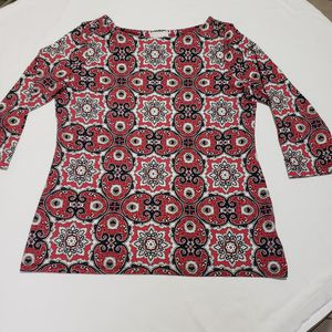 Charter Club Quarter Sleeve Boat Neckline Blouse for Sale in Laredo, TX