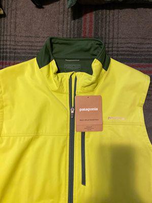 Patagonia Wind screen vest/fluid green. for Sale in Carrollton, VA