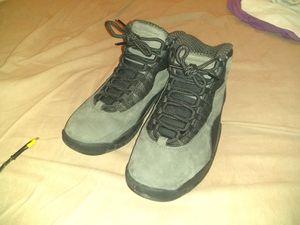 Men's 8 1/2 Jordan Retro 10s shadow grey for Sale in Las Vegas, NV