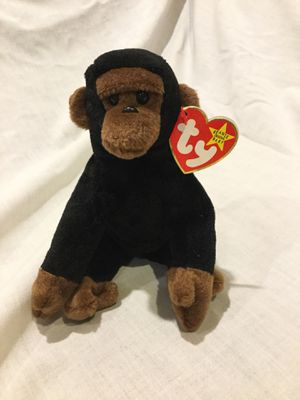 Ty Beanie Babies Congo the gorilla MWT for Sale in Detroit, MI