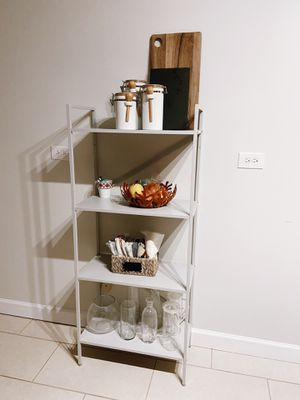 Shelving Unit ( soft grey ) for Sale in Chicago, IL
