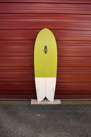 "New 5'6"" FOIL Retro Fish Surfboard for Sale in Zephyrhills, FL"