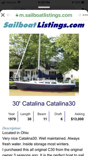 Catalina 30' sailboat for Sale in Sandusky, OH