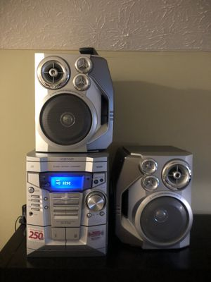 """Sharp"" CD/Cassette Stereo System for Sale in Crofton, MD"