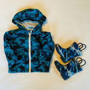 SET: Rain Coat (18-24 mo.) & Boots (7) for Sale in Seattle, WA
