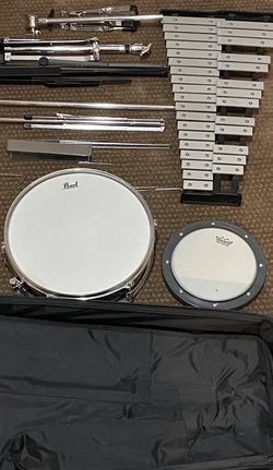 Pearl PL910C Snare and Bell kit educational set for Sale in Redmond,  WA