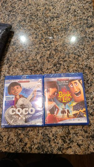 Disney movies 2 or single select purchase for Sale in Bay Lake, FL