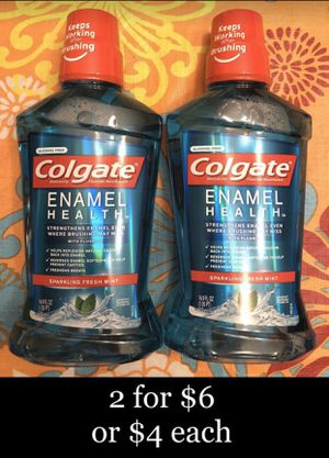 Colgate Enamel Health Mouth Wash (16.9 fl oz) $4 each or 2 for $6 for Sale in Monterey Park, CA