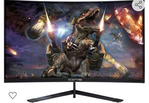 Sceptre 24 Inch Curved Monitor 144hz READ DISCRITION for Sale in Glenarden, MD