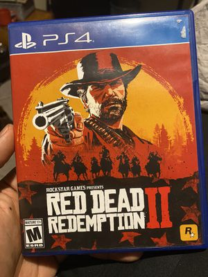 Ps4 PlayStation Red Dead Redemption II ‼️ for Sale in Buena Park, CA