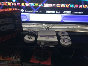 Super Nintendo Entertainment System: Classic Edition for Sale in Waldorf, MD