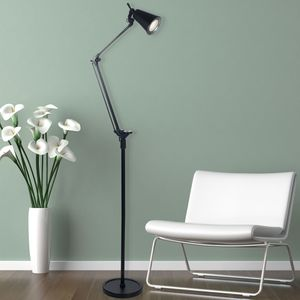 Lavish Home 6 Foot LED Adjustable Floor Lamp Barely Used for a year for Sale in Raleigh, NC