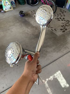 Double shower head - never used for Sale in Santa Maria, CA