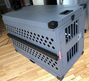 Impact collapsible steel dog crate, size XXL, airline approved, originally $800 for Sale in Philadelphia, PA