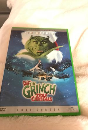 How The Grinch Stole Christmas DVD for Sale in Scottsdale, AZ