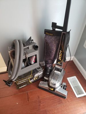 Kirby vacuum w/carpet shampoo system for Sale in Manassas, VA
