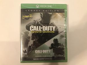 Call of Duty Infinite Warfare Legacy Edition Xbox One for Sale in Shelton, CT
