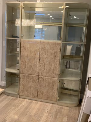 Armoire-China-Display Cabinet-Hutch-Shelves for Sale in Woodland Hills, CA