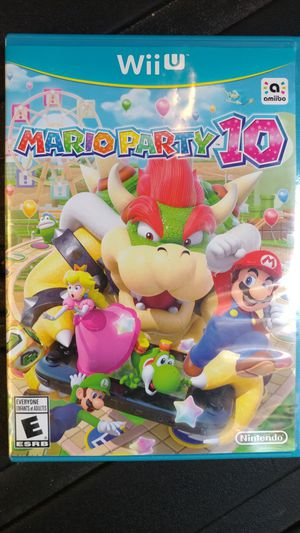 Mario Party 10 Wii U for Sale in Laveen Village, AZ