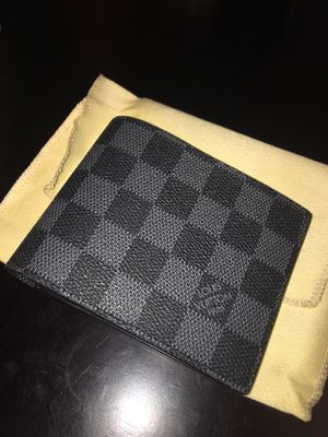 Louis Vuitton Damier Graphite Bifold Wallet for Sale in San Ramon, CA