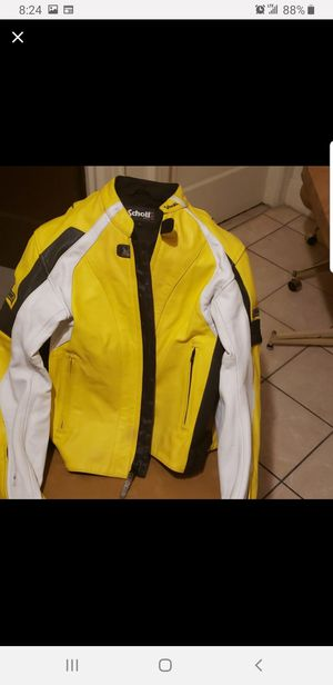 Schott NYC Lthr. Pro Motorcycle Jacket w/ safety padding for Sale in New York, NY