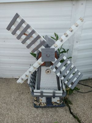 Lighted windmill for Sale in Oak Lawn, IL