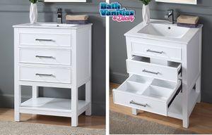 "24"" bathroom vanity countertop INCLUDED for Sale in Margate, FL"