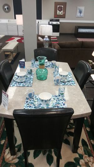 New Authentic Marble Dinette Set for Sale in West Columbia, SC