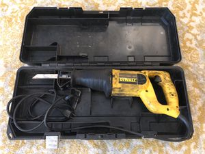 DeWalt Sawzall reciprocating saw for Sale in Fort Lauderdale, FL