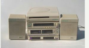 Retro stereo system for Sale in Vallejo, CA