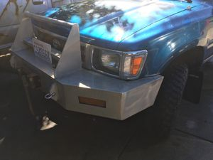 Toyota front bumper with winch for Sale in Lynnwood, WA