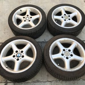 BMW Style 18 Wheels Staggered Set 17 for Sale in Carson, CA