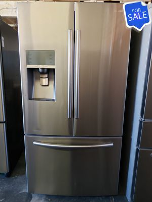😍😍Refrigerator Fridge Samsung Stainless Steel MESSAGE NOW! #1472😍😍 for Sale in Riverside, CA