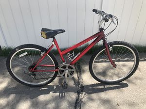 21 gear. Red Mountain bike for Sale in Denver, CO