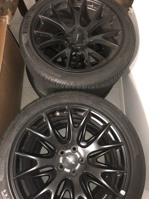 Factory BLACK SRT RIMS!!! for Sale in Staten Island, NY