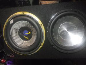2 10 inch subs for Sale in Everett, WA