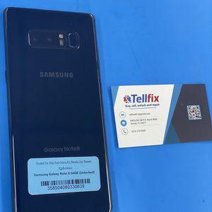 Samsung Galaxy Note 8 64GB Unlocked ☑️☑️warranty 🔥🔥 for Sale in Tampa, FL