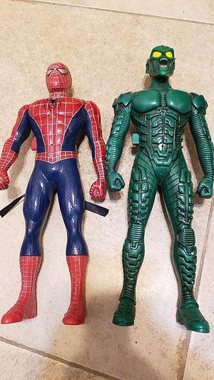 Spiderman and green goblin walkie talkie set for Sale in Pasadena, TX