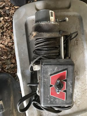 Used warn winch parts or repair. for Sale in Tampa, FL